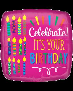 """18""""Celebrate Your Birthday!"""