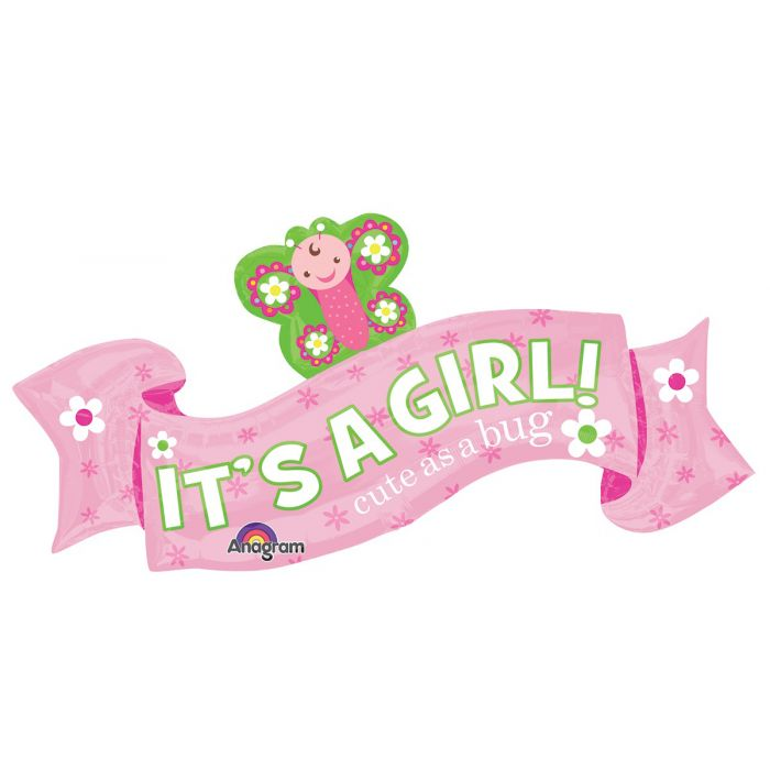 40 Welcome Baby Girl Banner